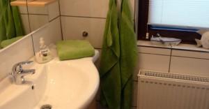 Rhönbude - Badezimmer