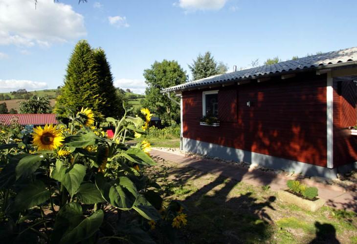 Rhönbude - Garten 2