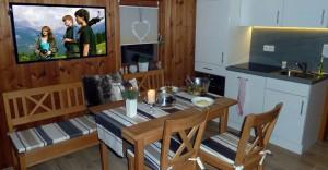 Rhönbude - Küche Essbereich