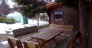 Rhönbude - Partyhütte 1