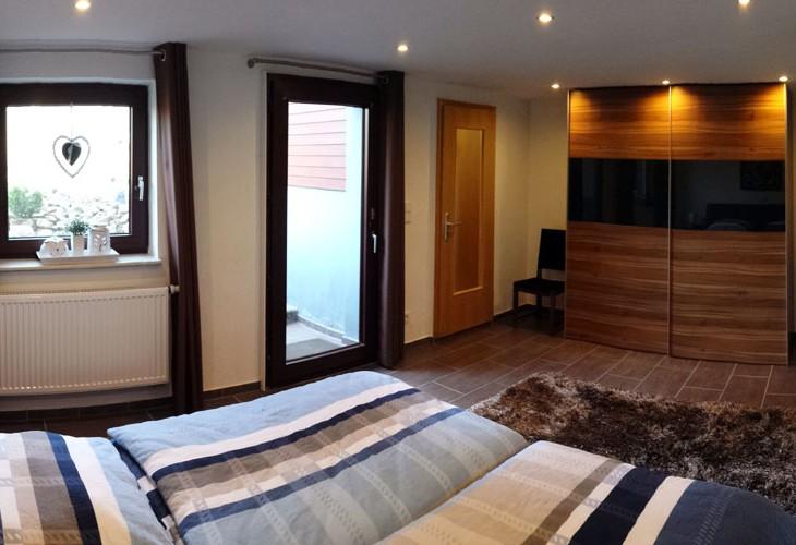 Rhönbude - Schlafzimmer 2