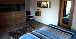Rhönbude - Schlafzimmer 3