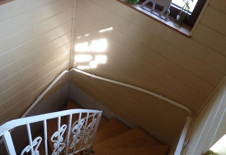 Rhönbude - Treppenaufgang