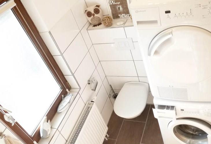 Rhönbude - WC - Waschmaschine - Trockner